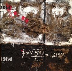 1984   Mixed Media on Wood  100x100 cm
