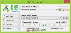 Dns Jumper 2.0   Dns Jumper--2.0--オールフリーソフト