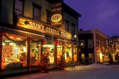Christmas in Stowe, Vermont