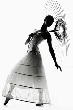 beautiful silhouette, love the black and white.