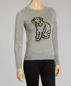 Take a look at this Heather Dog Sweater by By Design on #zulily today!