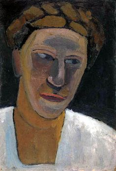 Paula Modersohn-Becker - Portrait of Lee Hoetger