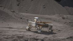 DLR Portal - Space Pavilion - Asimov, the autonomous Lunar Rover