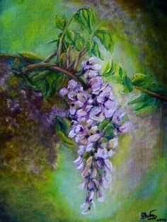 Lila akác Painting, Art, Lilac, Art Background, Painting Art, Kunst, Paintings, Performing Arts, Painted Canvas