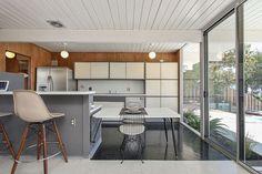eichler kitchen -- original cabinets