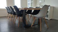 "Style by Tiinamaria: Kolme tilaa - yhtenäinen ""tuoliperhe"" Eames, Chair, Inspiration, Furniture, Ideas, Home Decor, Style, Biblical Inspiration, Swag"