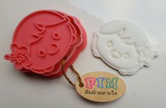 Moana face Cute Girl cookie cutter and Stamp by PimCookieCutter on Etsy