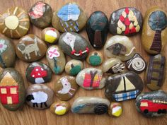 Story Stones - this website has TONS of awesome activities for kids