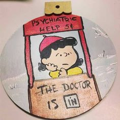 Check out this item in my Etsy shop https://www.etsy.com/listing/252326563/lucy-ornament-on-wood-hand-painted