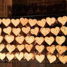 Little Daisy hearts of lavender and Rose shortbread. Miss Daisy loves the shadow of the hearts when they are all line up cooling. All made with Daisy love for @scrub_hill_1869. X #daisydining #daylesford #catering #daylesfordcatering #bespokecatering #bespoke #traditionalcooking #localproduce #shortbread #lavender #rose #food #foodpics #foodstyling #privateorder #privatedining #privatecatering #scrubhill #sundaymusic #sundayfunday #weekend #weekendgetaways #melbourne #melbournefood…