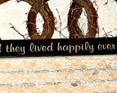 All Because Two People Fell In Love by thecountrysignshop on Etsy