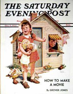 Saturday Evening Post - 1937-10-09: No Girls Allowed (Frances Tipton Hunter)