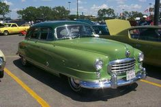 1950 Nash Ambassador Custom, 6 cyl., 4 dr. Sedan