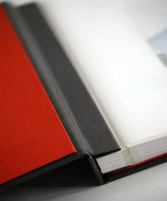 Binder opens completely flat for viewing.