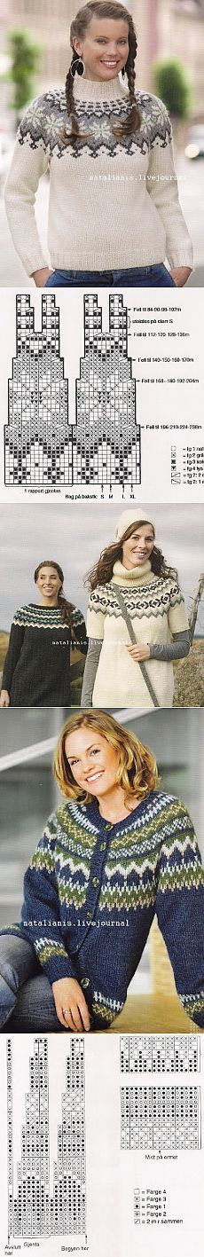 Knitting sweaters pattern icelandic 31 Ideas for 2019 Fair Isle Knitting Patterns, Fair Isle Pattern, Sweater Knitting Patterns, Knitting Charts, Knitting Stitches, Knit Patterns, Free Knitting, Baby Knitting, Knitting Sweaters