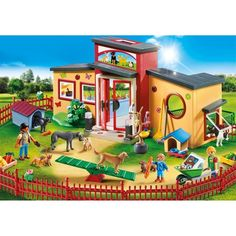 Playmobil 9275 city life - pension des animaux Playmobil | La Redoute