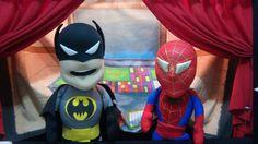 Teatro de Fantoches Super Herois. Uma aventura na sua festa. Tio Pan tradicional em SP capital. Desde 1981. Ligue 11 998070605