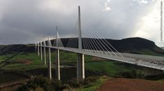 The Millau Viaduct (officially opened to traffic on December 16, 2004), is a cable-stayed road-bridge that spans the valley of the river Tarn near Millau in southern France.