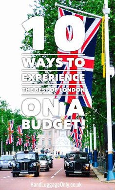 10 Ways To Experience The Best Of London On A Budget - Hand Luggage Only - Travel, Food & Photograph Sightseeing London, London Travel, Edinburgh Travel, Travel Planner, Budget Travel, Travel Ideas, Places To Travel, Travel Destinations, Travel To Uk