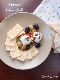 How to make homemade yogurt cheese spread, cheese balls and variations