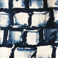 Pattern _indigo _ #indigo #Blocks #print ,busy making stuff at the #studio