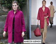 Queen Letizia wore Marcos Luengo Coat www.newmyroyals.com