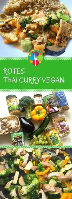Thai Curry vegan. Vegalife Rocks: www.vegaliferocks.de✨ I Fleischlos glücklich, fit & Gesund✨ I Follow me for more vegan inspiration @vegaliferocks