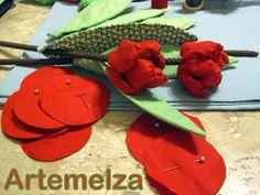 Fuxico - tulipa franzida