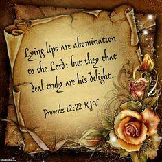 Proverbs 12:22 KJV