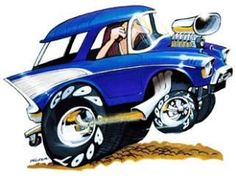 1957 CHEVY BEL AIR NOMAD HOT ROD LICENSED T SHIRT #4200