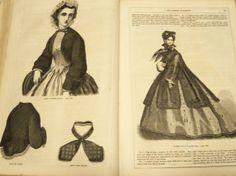 Frank Leslie's Magazine July Dec 1863 Civil War Era RARE | eBay