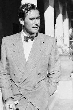 Errol Flynn-Sexy in a suit!