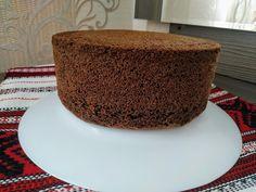Blat de tort cu cacao sau pandișpan cu cacao... Cea mai reușită rețetă.