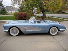 Corvette beauty #chevroletcorvette1958