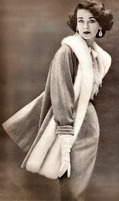 Dorian Leigh, Harper's Bazaar 1950.