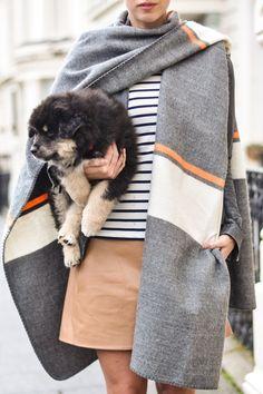 Thank Fifi wears a Boden Breton Top. March 2015