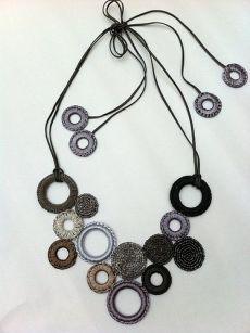 crochet necklace | crochet accessories