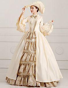 steampunk®georgian viktorianischen Partykleid Marie Antoinette wholesalelolita Rokoko-Prinzessin-Abendkleid