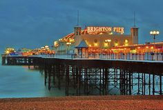 Took a train from Victoria Station, London to Brighton Beach, whilst on holiday. Nice seaside vacation spot in the UK Brighton England, Visit Brighton, Brighton Sussex, Solo Travel, Travel Usa, Boston Travel, Boston Things To Do, Living In England, Weekend Breaks