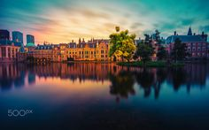 The Hague is the seat of the Dutch government and parliament, the Supreme Court, and the Council of State, but the city is not the capital of the Netherlands which constitutionally is Amsterdam.