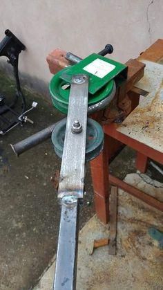 Steam Bending Wood, Metal Bending Tools, Metal Working Tools, Metal Tools, Welding Crafts, Welding Tools, Welding Projects, Woodworking Workshop, Woodworking Projects Diy