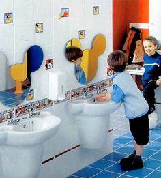 mirrors for kids bathroom