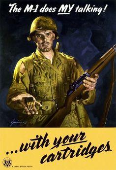 A Classic Piece of WWII American Propaganda Art.