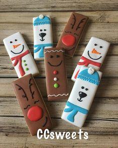 Last of the Christmas cookies. Last of the Christmas cookies. Christmas Sugar Cookies, Christmas Cupcakes, Christmas Sweets, Christmas Goodies, Holiday Cookies, Christmas Candy, Christmas Baking, Fancy Cookies, Iced Cookies