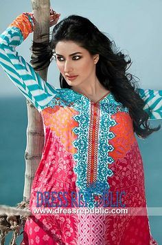 Maria B Lawn Collection 2014 For Summer | Designer Pakistani Lawn Maria B Lawn Collection 2014 For Summer