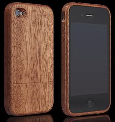Miniot iWood 4 Mahogany for iPhone 4/4s