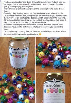 Quiet Critters Jar Label [FREEBIE] | library | Pinterest ...