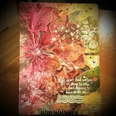 Art Journaling with Cottage Rose