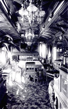 UPullman train cars, the epitome of luxury Palace Cars, Superliners (284 of these), sleeping cars and passenger train cars, 1859-1981