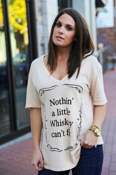 Little Whiskey Tee